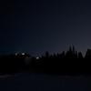 ISS över toppstugan i Kläppen, Dalarna
