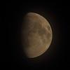 Måne på trekvart - November 2013
