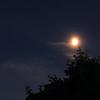 I väntan på ISS - Mars och Månen över trädgården i Lund