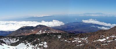 Utsikt fra Teide / View from Teide