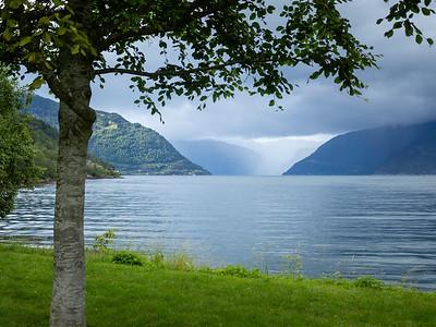 Fjordlandskap Kinsarvik Kinsarvik, Hardanger 21.7.2020 Canon 5D Mark IV + EF 17-40mm f/4L USM @ 40 mm