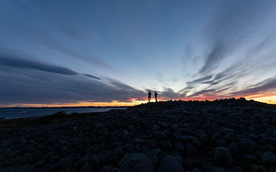 Solnedgang / Sunset Mølen, Brunlanes 12.7.2020 Canon 5D Mark IV + EF 17-40mm f/4L USM @ 17 mm