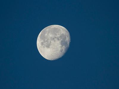 Månen / The Moon Agger tange, Danmark 15.7.2014 Canon EOS 7D + Tamron 150 - 600 mm 5,0 - 6,3