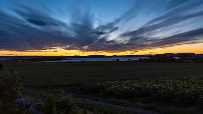 Solnedgang / Sunset Mølen, Brunlanes 12.7.2020 Canon 5D Mark IV + EF 17-40mm f/4L USM @ 26 mm