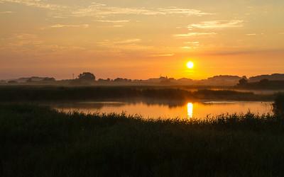Soloppgang/ Sunrise Tryggelev Nor, Langeland, Danmark 18.7.2014 Canon EOS 5D Mark II + EF 17 - 40 mm L @ 40 mm