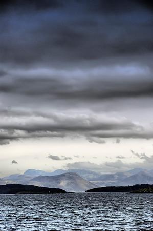 Gandsfjorden sett fra Pannevigodden. Stavanger.