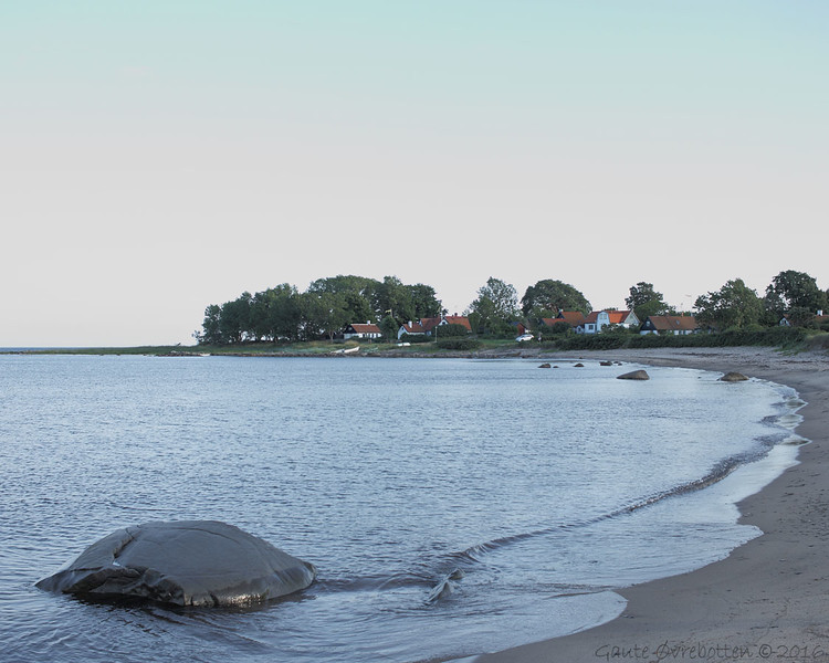 Gislövshammar (sør for Brantevik, Simishamn)