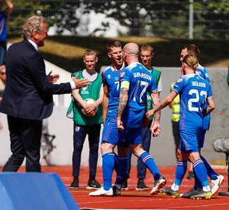 A karla - Ísland - Albanía - 8. júní 2019