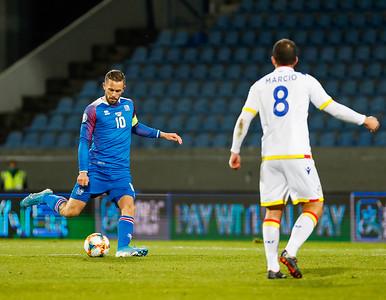 A karla - Ísland - Andorra - 14. október 2019
