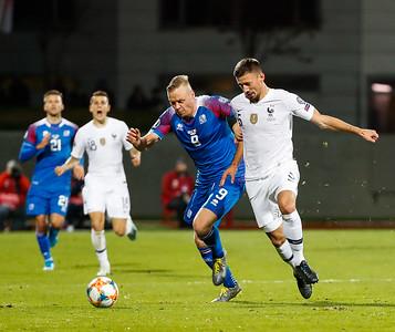 A karla - Ísland - Frakkland - 11. október 2019
