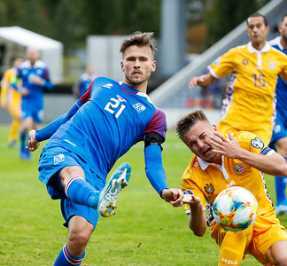 A karla - Ísland - Moldóva - 7. september 2019