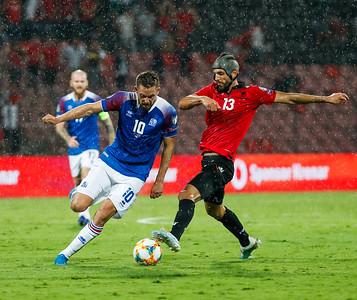 A karla - Albanía - Ísland 10. september 2019