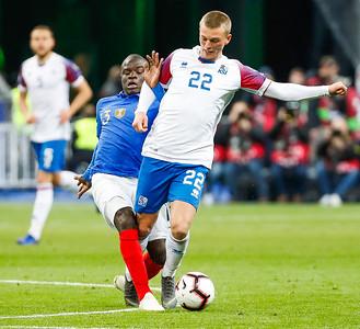 A karla - Ísland - Frakkland - 25. mars 2019