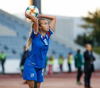 A kvenna - Ísland - Slóvakía - 2. september 2019