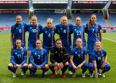 Ísland-Tékkland 4. september 2018