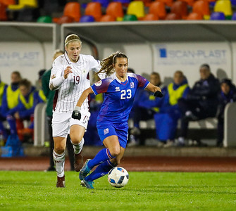 A kvenna - Lettland - Ísland - 8. október 2019