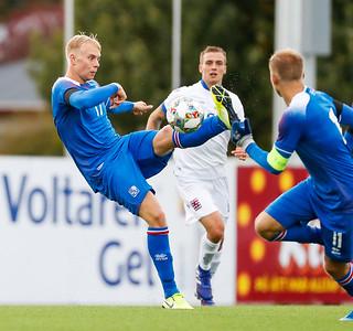 U21 karla - Ísland - Lúxemborg - 6. september 2019