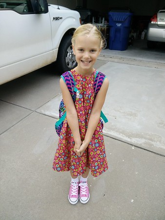 Zoe's First Day of School