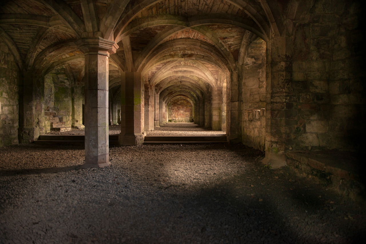 lanercost priory catacombs