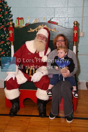 2013-12-7 Lanes Mill Elem Shool Santa