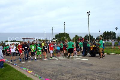 Green Bandana Walk & Fundrasier 8-12-17
