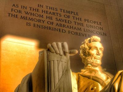 Lincoln Memorial Morning Light