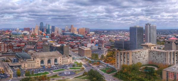 Kansas City Skyline Panoramic