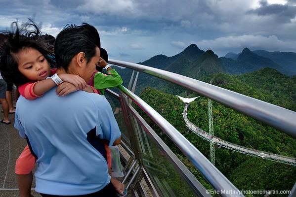MALAISIE. ILE DE LANGKAWI. L HOTEL DATAI. Le Langkawi Sky Bridge