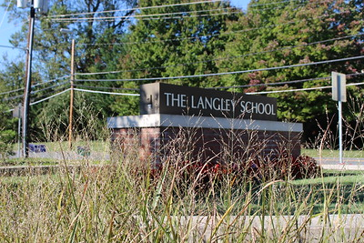 The Langley School Entrance