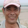 Portrait of a clam fisherman.