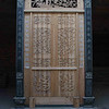Unfinished temple door.