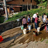 Though most homes in Jingsa Village have accesss to tap water, when it comes to cooking and drinking, many prefer to draw water from one of the village wells (1 of 3).