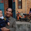 Man with young boy