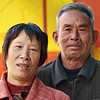 Portrait of a man and woman in Yun Long village.