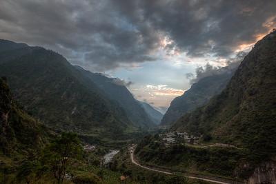 Syabru Besi valley