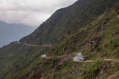 Mountain roads - beautiful, but deadly