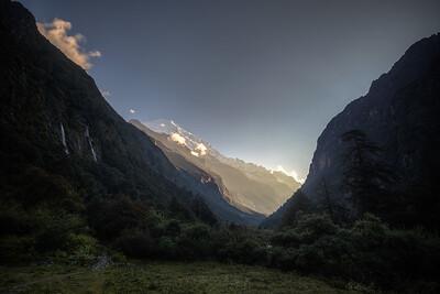 Sunrise from Ghoda Tabela