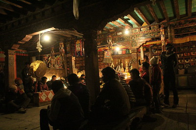 Ghewa Ceremony, Langtang Gompa. April 24th.