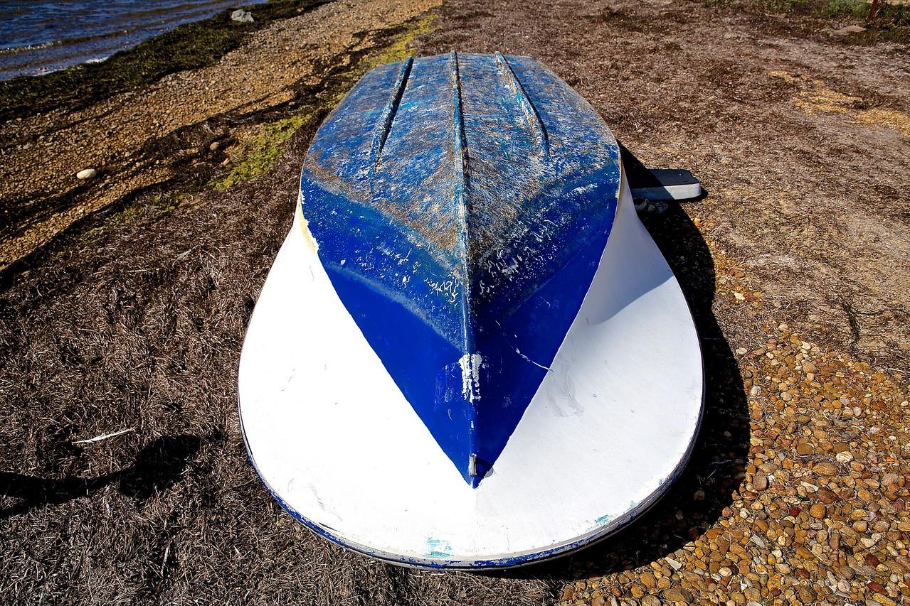 Fishing Boat.  Etang de Thau