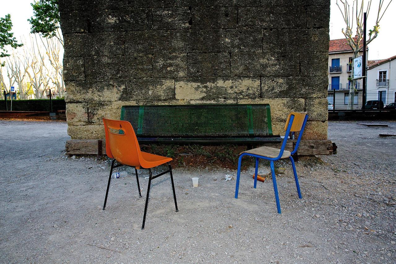 Les Arceaux Still Life.  Montpellier