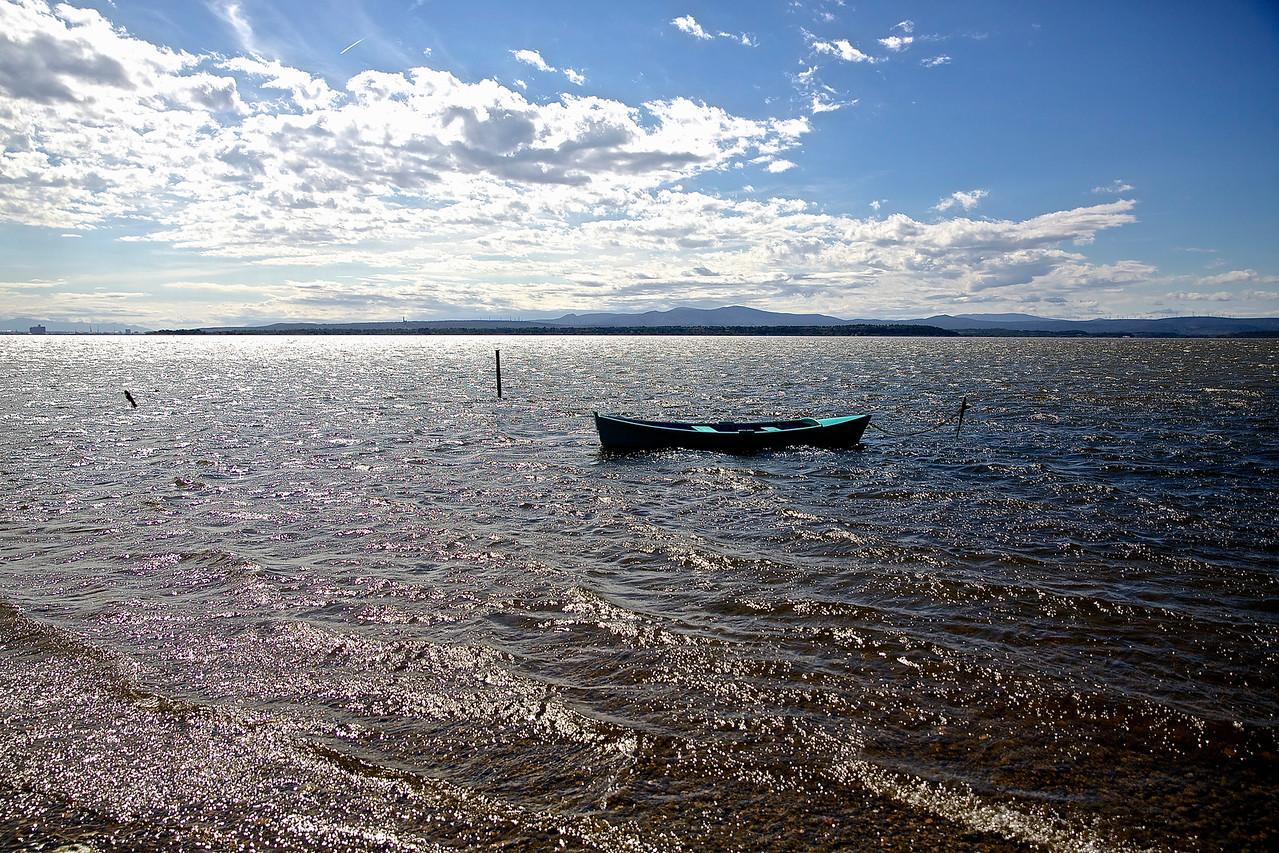 Adrift.  Etang de Thau