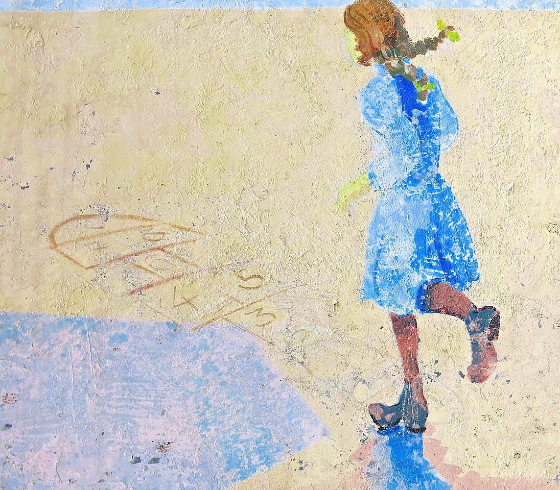 Children's Games #3. Public School Mural, Carcassonne