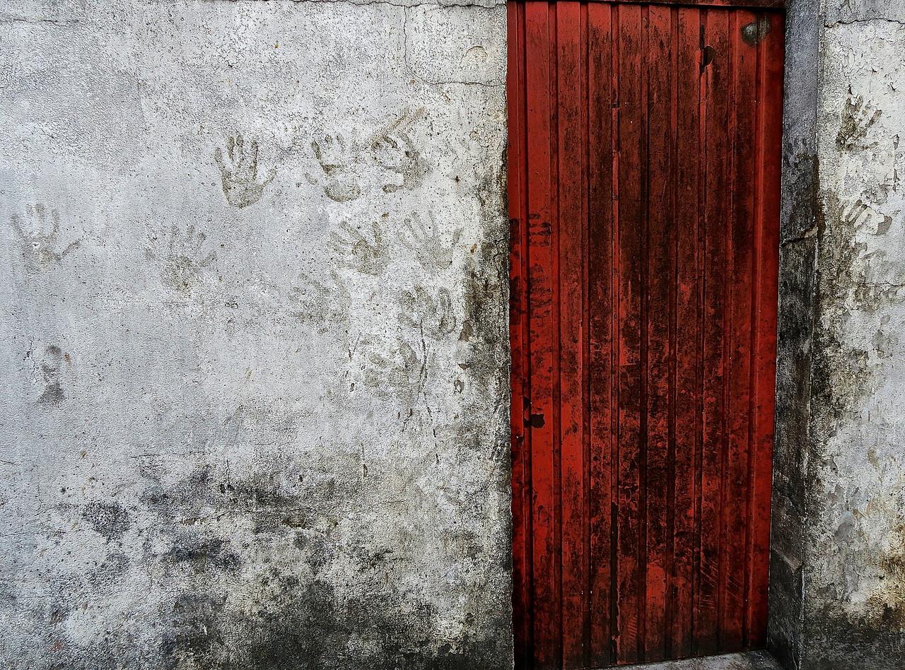 Montagnac Winery Door.  Montagnac Co-op.
