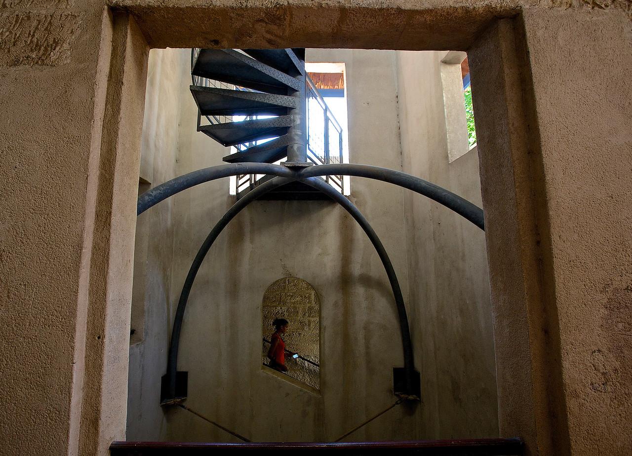 Arles Staircase.  Arles.
