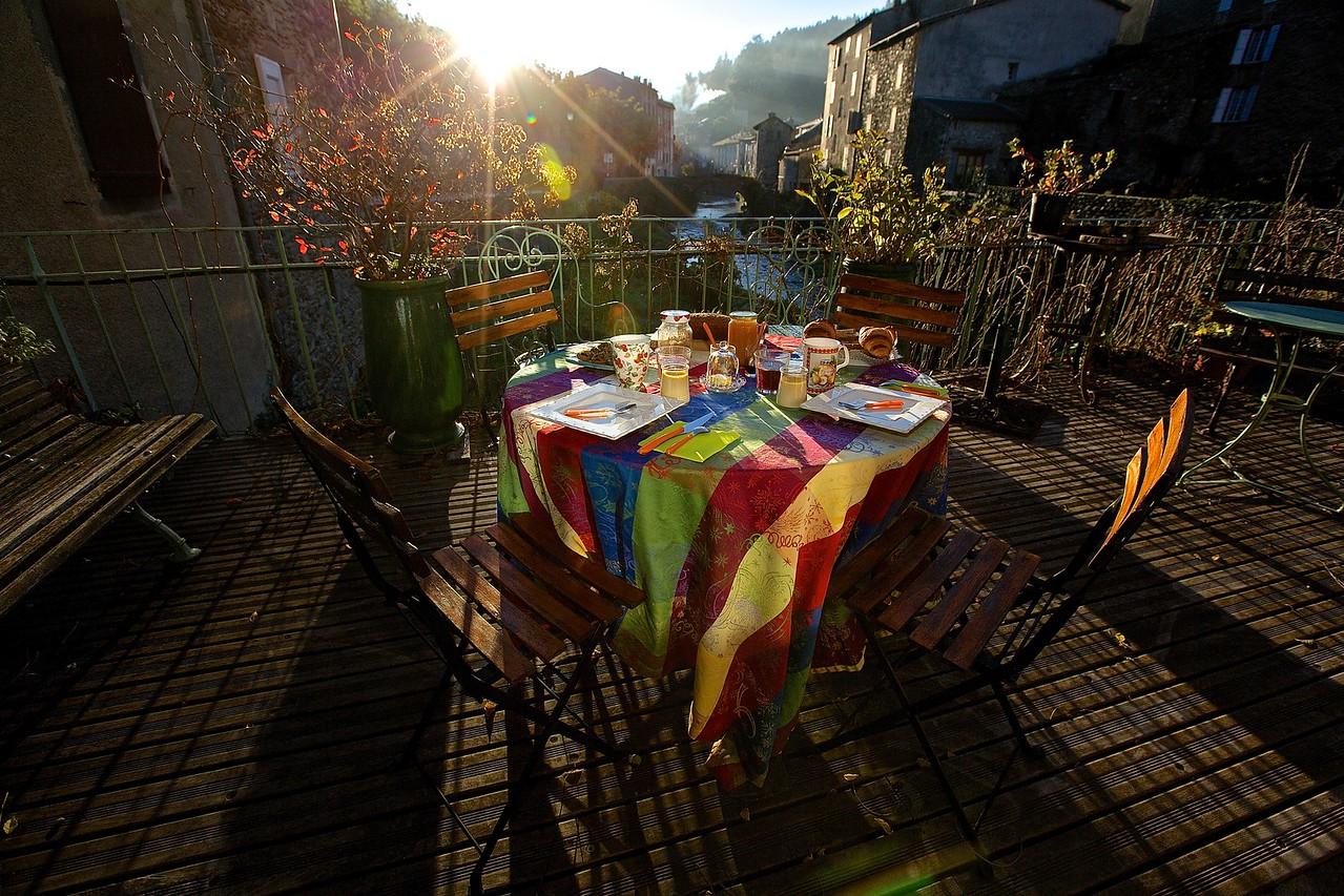 Breakfast. Sainte Andre de Valborgne