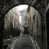 Roquebrun village,Languedoc, southern France