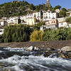 the River orbe at Roquebrun,Languedoc, southern France
