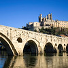 the River Orbe at Beziers,Languedoc, southern France
