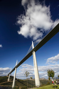 Viaduct at Millau,Languedoc, southern France