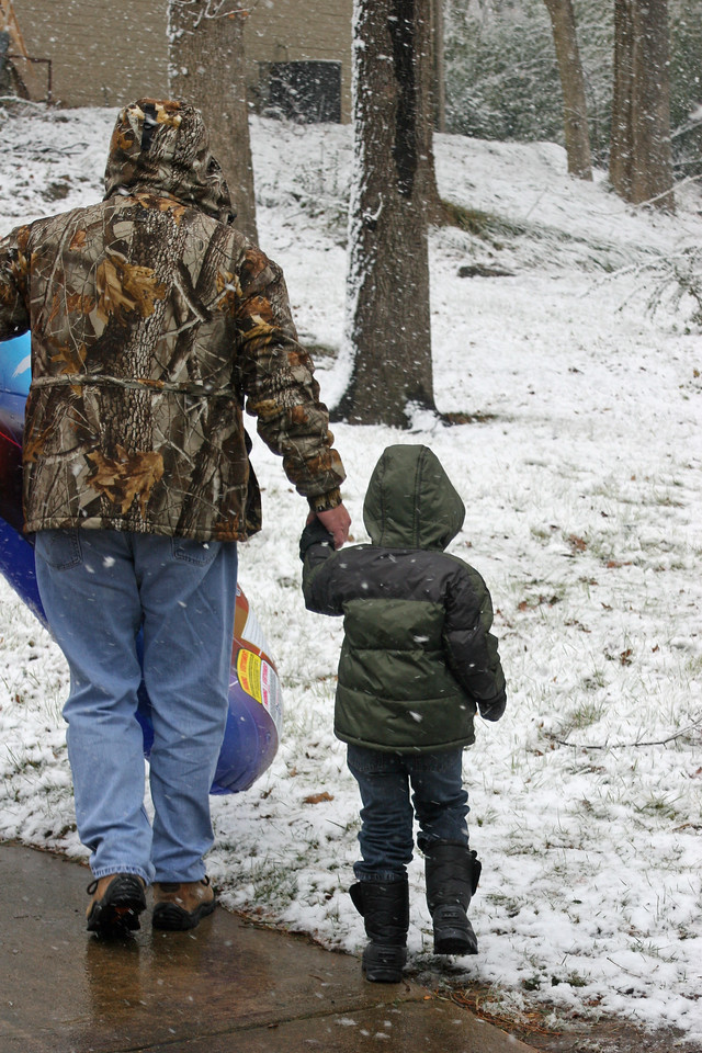 Snow in Tulsa